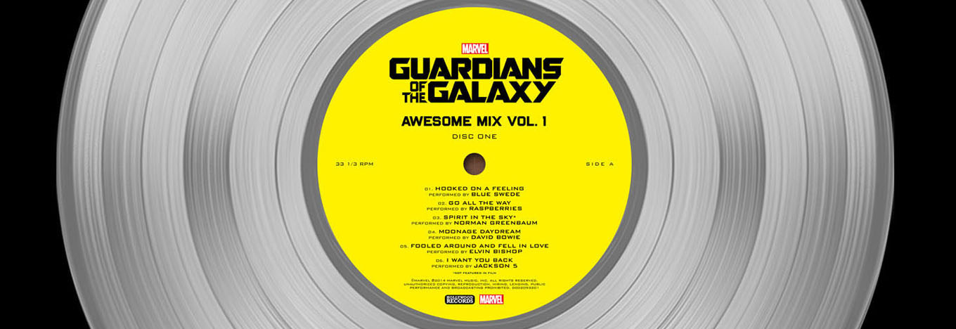 Guardians of the Galaxy Soundtrack Goes Platinum